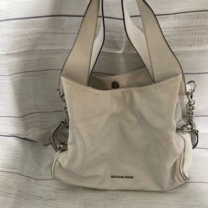 Michael Kors White Shoulder Bag
